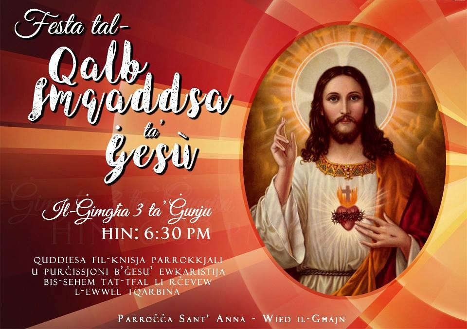 Qalb ta Gesu 3.06.16